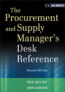 The Procurement And Supply Manager S Desk Reference