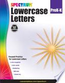 Lowercase Letters Grades Pk K