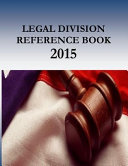 Legal Division Reference Book   2015 Book PDF