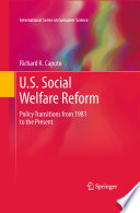 U S  Social Welfare Reform