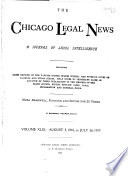 The Chicago Legal News