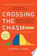 Crossing the Chasm, 3rd Edition Book Cover