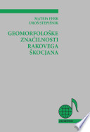 Geomorfološke znaèilnosti Rakovega Škocjana