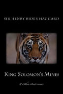 King Solomon S Mines With The Sequel Allan Quatermain  book