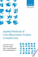 Applied Methods Of Cost-effectiveness Analysis In Healthcare : instructions and examples of how...