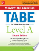 McGraw Hill Education TABE Level A  Second Edition