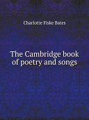The Cambridge book of poetry and songs Book