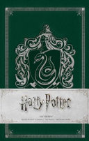Harry Potter  Slytherin Ruled Pocket Journal