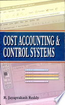Cost Accounting And Control Systems