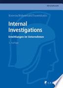 Knierim/Rübenstahl/Tsambikakis, Internal Investigations