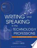 Writing and Speaking in the Technology Professions