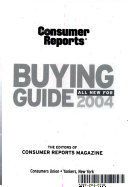 Consumer Reports 2004