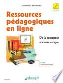 Ressources p  dagogiques en ligne