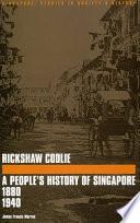 Rickshaw Coolie