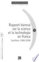 Rapport biennal sur la science et la technologie en France