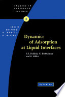 Dynamics of Adsorption at Liquid Interfaces