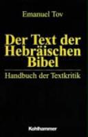 Der Text der Hebr  ischen Bibel