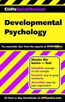 CliffsQuickReview Developmental Psychology