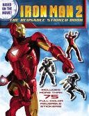 Iron Man 2 The Reusable Sticker Book