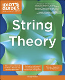 download ebook the complete idiot\'s guide to string theory pdf epub