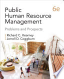Public Human Resource Management