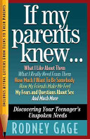 If My Parents Knew   Book PDF