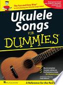 Ukulele Songs for Dummies  Songbook