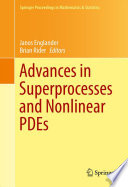Advances In Superprocesses And Nonlinear Pdes