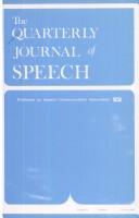 The Quarterly Journal of Speech