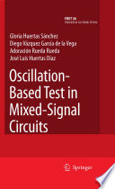 Oscillation Based Test in Mixed Signal Circuits
