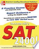 McGraw Hill s SAT 2400
