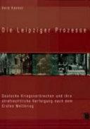Die Leipziger Prozesse