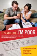 It S Not Like I M Poor