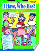 I Have  Who Has  Science  Gr  6   8  eBook