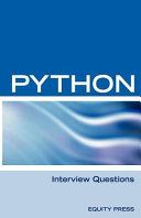 Python Interview Questions Answers And E