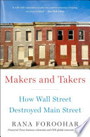 Makers and Takers Book PDF