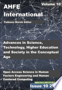 Advances in Science  Technology  Higher Education and Society in the Conceptual Age  STHESCA