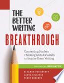 The Better Writing Breakthrough
