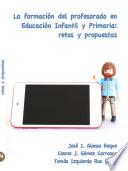 La formación del profesorado en Educación Infantil y Primaria