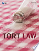 Tort Law Critical Approach To The Subject Tort Law