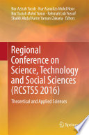 Regional Conference On Science Technology And Social Sciences Rcstss 2016