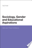 Sociology  Gender and Educational Aspirations