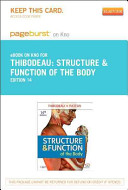 Structure   Function of the Body   Pageburst E Book on Kno  Retail Access Card