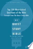 NIV  Top 100 Q and A of the Bible  A Zondervan Bible Extract  eBook