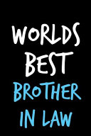 Worlds Best Brother in Law Book PDF
