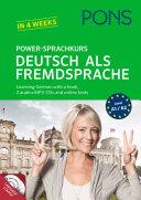 PONS Power Sprachkurs Deutsch Als Fremdsprache