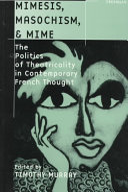 Book Mimesis, Masochism, & Mime