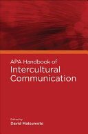 APA Handbook of Intercultural Communication