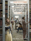 The Bedford Anthology of American Literature  Volume Two