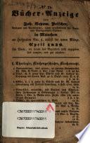 B  cher Anzeige vom Antiquar Joh  Nep  Peischer in M  nchen